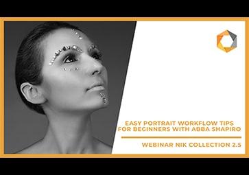 Einfacher Workflow für Porträts – Tipps für Anfänger mit Abba Shapiro (in Englisch)