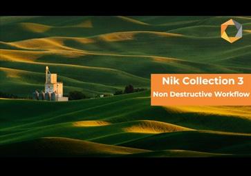 Einführung in den revolutionären nicht-destruktiven Workflow der Nik Collection 3 By DxO für Anwender von Adobe Lightroom Classic (in Englisch)
