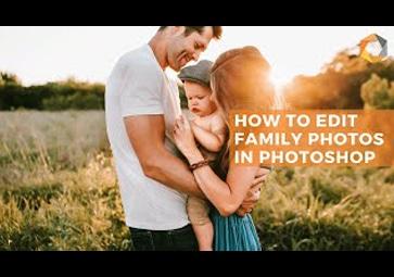 Fotos von Familienfeiern mit nur einem Klick bearbeiten mit Photoshop und dem Selective Tool der Nik Collection 3 By DxO (in Englisch)