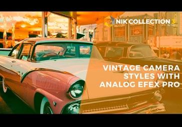 Vintage-Kamerastile erstellen mit Analog Efex Pro (auf Englisch)