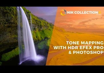 Wie man mit HDR Efex Pro und Adobe Photoshop Tone Mapping durchführt und Bilder zusammenführt (auf Englisch)