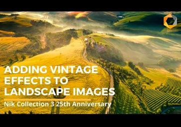 Ergänzen von Vintage-Effekten in Landschaftsaufnahmen mit Analog Efex By DxO (in Englisch)