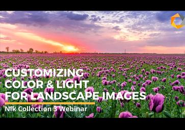 Anpassen von Farbe und Licht für Landschaftsaufnahmen mit Color Efex Pro (in Englisch)