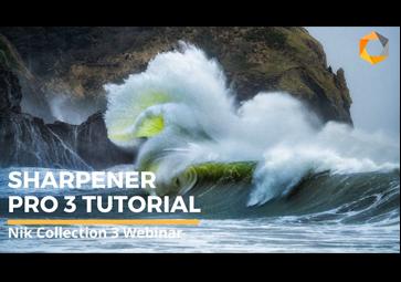 Sharpener Pro で大判現像写真を設定し改善する方法  (英語)