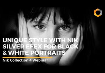 Nik Silver Efex を使って、モノクロポートレート写真で自分ならではのスタイルを発見しよう (英語)