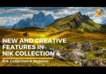 Nik Collection 4 の新機能とクリエイティブな機能のご紹介  (英語)